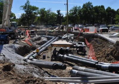University of Arkansas LeRoy Pond Chiller Site Utilities