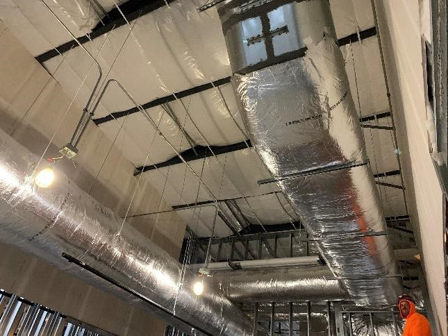 Mountain Mechanical Lab Supply and Exhaust Ductwork University of Arkansas