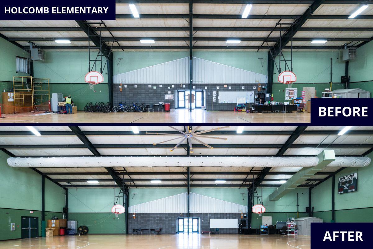 Holcomb_Elementary_Fayetteville_Arkansas_HVAC_Gym_Mountain_Mechanical