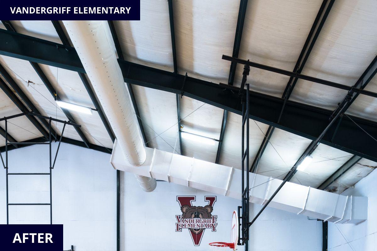 Vandergriff_Elementary_Fayetteville_Arkansas_HVAC_Gym_Mountain_Mechanical_Side